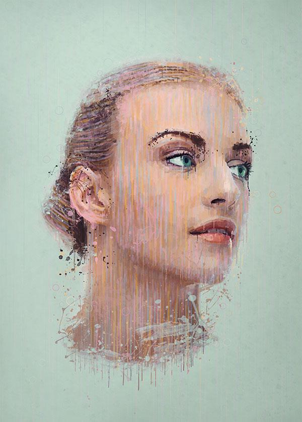 Превращаем фотографию в рисунок в Adobe Photoshop 783
