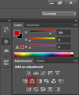 Коррекция Цветовой баланс (Color Balance)