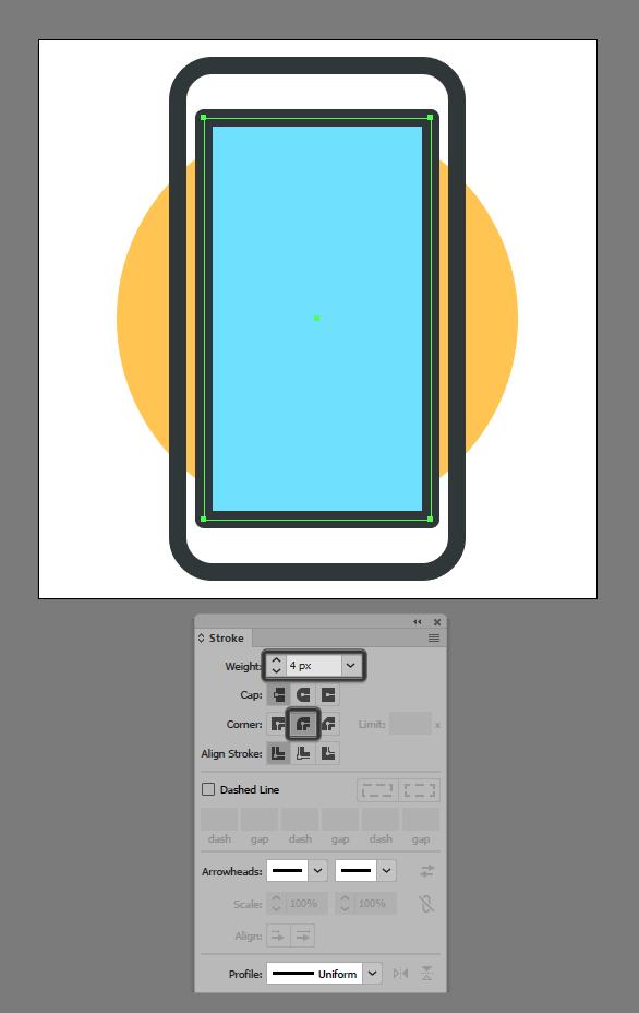 5-adding-the-outline-to-the-phones-screen-section.png