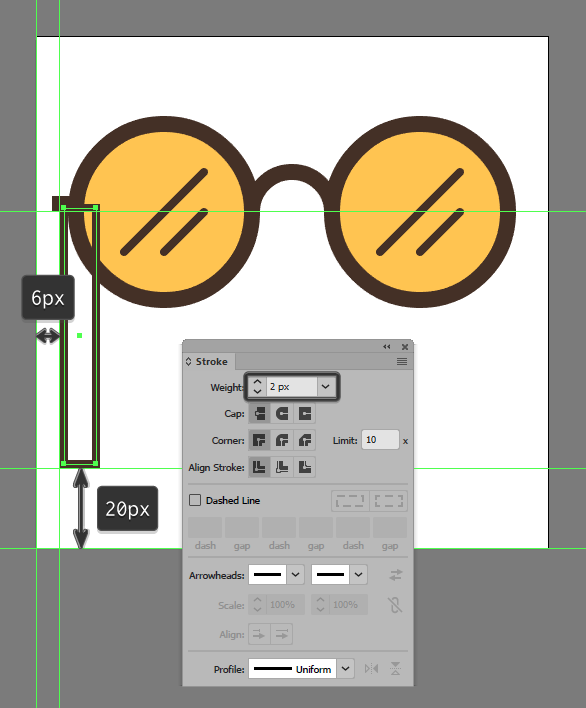 9-creating-and-positioning-the-main-shape-for-the-left-section-of-the-glasses-string.png