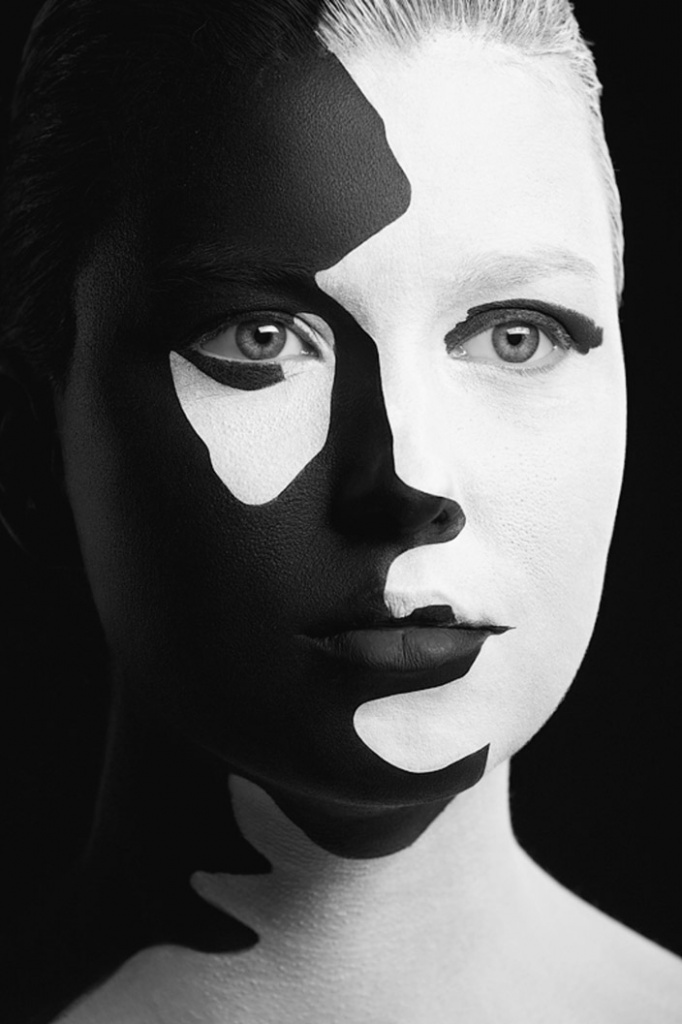 Opposites photography black and white